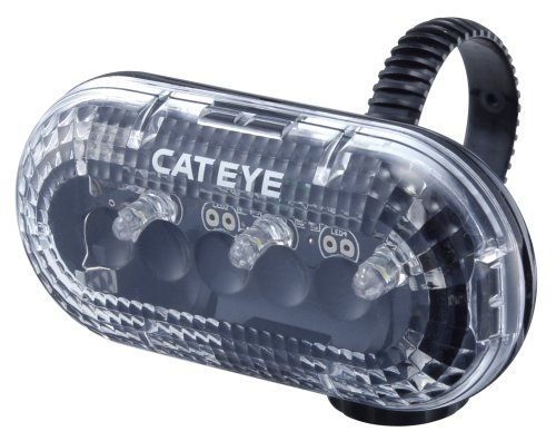 Cateye TL-LD130 LED Bicycle Tail and Safety Light (White)