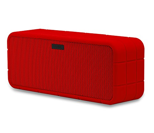 TANNC Bluetooth Speaker, Portable Wireless Speaker, Rechargable Battery with Changeable Anti-slip Silicone Outer Shell and 3.5mm Audio Cable, Works for iPhone / MacBook / iPad / MP3 / Computers and Any Other Bluetooth Enabled Device haloway party portable wireless bluetooth speaker with colorful led night light shaped tf stereo music adapter card usb fm radio support 3 5mm audio works with any bluetooth enabled device for apple iphone 5s 5c 5 4s 4 ipod ipad 4 3 2 ipad mini samsung
