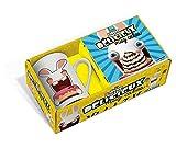 Mug cake The Lapins Crétins : Coffret avec un mug et un livre de recettes...