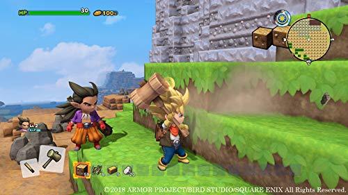 ドラゴンクエストビルダーズ2 破壊神シドーとからっぽの島 のレシピを先行入手できるダウンロードコード 同梱 - PS4 ゲーム画面スクリーンショット5
