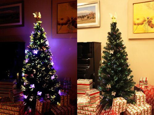 Fiber Optic Artificial Christmas Trees