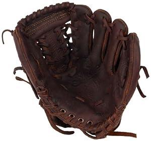 Shoeless Joe Gloves Junior Fielders Brown Glove by Shoeless Joe Gloves