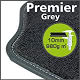 Volkswagen Touareg (2nd Gen) 2010 to Current Premier Grey Tailored Floor Mats