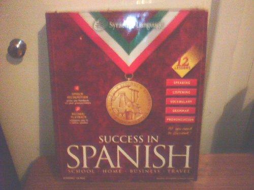 SUCCESS IN SPANISH PC CD ROM BIG BOX WINDOWS 95