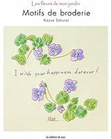 Motifs de broderie : Les fleurs de mon jardin