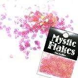 MysticFlakes オーロラピンク ハート0.5g