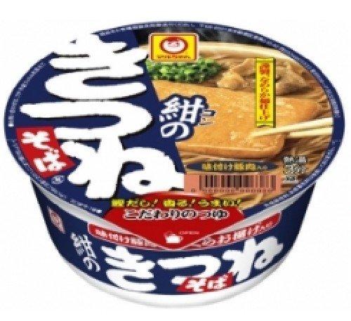 マルちゃん紺のきつねそば(東)89g×12個