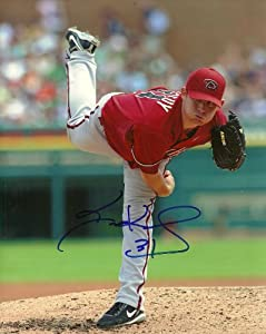 Ian Kennedy Arizona Diamondbacks Signed Autographed 8x10 Photo W COA Action by Hollywood Collectibles