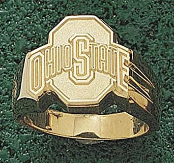 Ohio State Buckeyes Athletic O Mens Ring Size 10 3 4 - 14KT Gold Jewelry by Logo Art