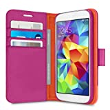 Belkin 2-in-1 Wallet Folio Case for Samsung Galaxy S5 - Azalea/Fiesta