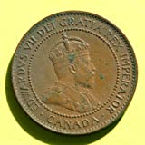 Canada - King Edwards VII 1906 One Cent Coin #2