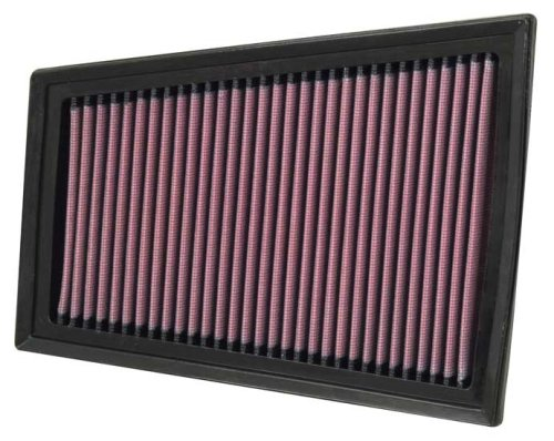 K and N Part K/&N RC-2362 Air Filter Universal Chrome Filter