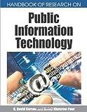 Handbook of Research on Public Information Technology (1599048574) by G. David Garson
