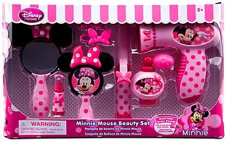 Review Of Minnie Mouse Beauty Set (Real Hair Dryer Sound)