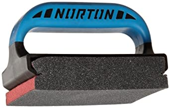 Norton 3X Small Area Sanding Sponge, Fabric Backing, Silicon Carbide