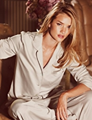 Rosie for Autograph Luxurious Boxed Satin Revere Pyjamas