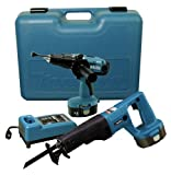 Makita DK1820D 18-Volt NiMH Cordless 2-Tool Combo Kit