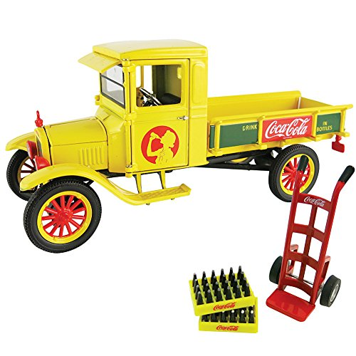 1923 Coca-Cola Ford Model TT Delivery Truck Die Cast w/ Dolly & Bottle Cases