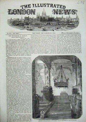 Der Kathedralen-Annahme-Kreml-Kaiser-Russland-Druck 1856