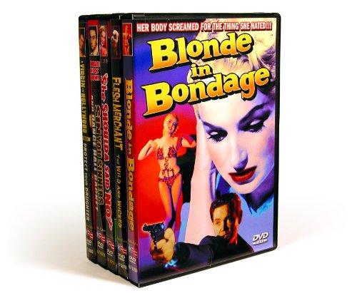 Vintage Exploitation: Blonde In Bondage (1957) / Flesh Merchant (1955) / Sin You Sinners (1963) / Dance Hall Racket (1953) / She Shoulda Said