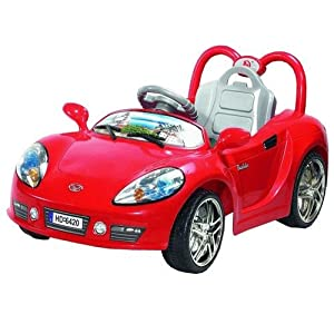 Kids Ride On Car Aston Martin Style Electric Battery Powered with MP3 Input Speaker Remote Control Red