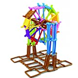 Think N Link Interlocking Plastic Enginnering Toys-Colorful Building Toys- Fun- Educational- Safe For Kids- Develops...