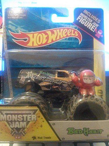 Hot Wheels Off-Road Monster Jam 2014 Includes Mini Figure Bad Habits #63 - 1