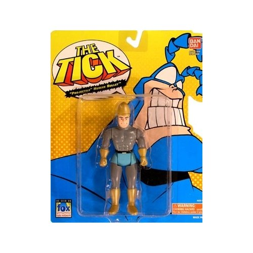 The Tick Series 1 Projectile Human Bullet Action Figure - 1