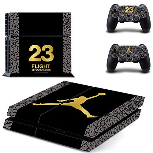 air-jordan-ps4-console-designer-skin-for-sony-playstation-4-system-plus-two2-decals-for-ps4-dualshoc