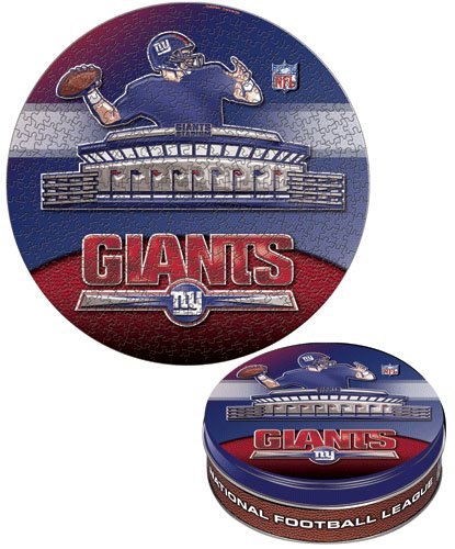 New York Giants 500 Piece Puzzle Tin at Amazon.com