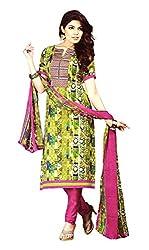 Sagi Women's Cotton Silk Unstitched Dress Material (SDDM-02_Multi_Free Size)