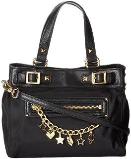Juicy Couture Studded Velour Shoulder Bag Black 98