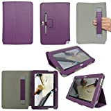 ProCase Samsung Galaxy Note 10.1 Case - Flip Stand Leather Folio Cover for Samsung Galaxy Note 10.1 Inch N8000 N8010 N8013 Tablet (Purple) Color: Purple Size: Galaxy Note 10.1