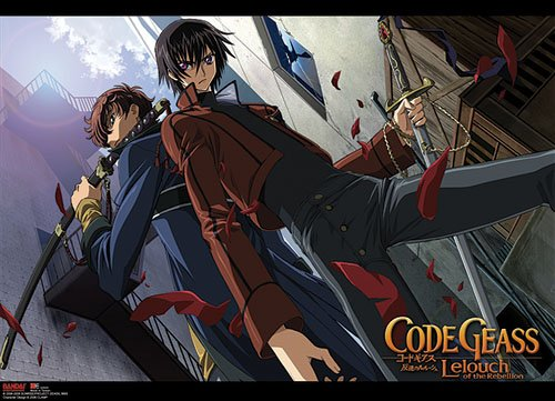 Code Geass: Stand Off Anime Wall Scroll