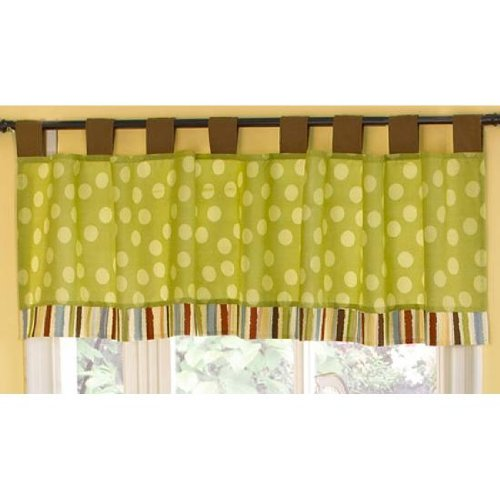 Cocalo Jungle Talk Window Valance - 1