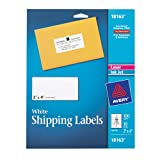 Avery Shipping Labels for Laser and Inkjet Printers, White, 2 x 4 Inches, Pack of 100 (18163)