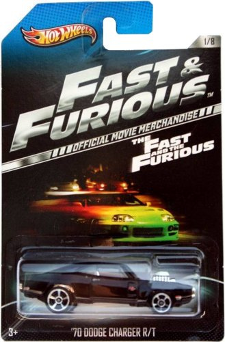 2013 Hot Wheels The Fast And The Furious Official Movie Merchandise Limited Edition '70 Dodge Charger R/T 1/8