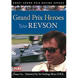 Peter Revson Grand Prix Hero