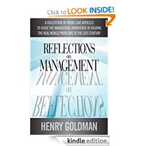 Reflections On Management Henry H Goldman
