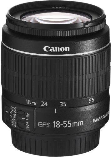 Canon EF-S Zoom Lens 18 mm - 55 mm - f/3.5-5.6