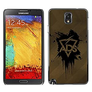 Case or Cover for Samsung Galaxy Note 3 ADS Lightning case for iphone