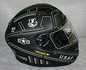 Amazon Com 3xl Akuma Stealth Motorcycle Helmet Matte