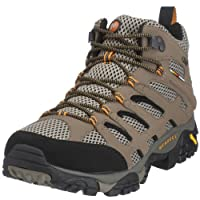 Merrell Men's Moab Mid Gore-Tex Waterproof Boot (9.5 W, Dark Tan) by Merrell