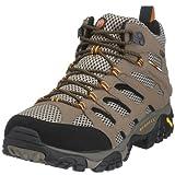 Merrell Men's Moab Mid Gore-Tex Hiking Boot,Dark Tan,10.5