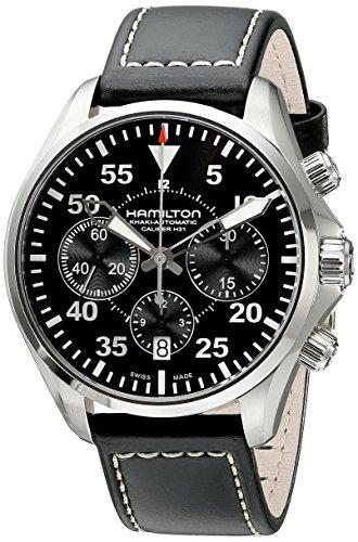 [ハミルトン]HAMILTON 腕時計 Khaki(カーキ) Pilot Auto Chrono(パイロット オートクロノ) H64666735 メンズ 【正規輸入品】