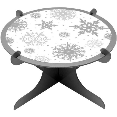 Snowflakes Dessert Stand
