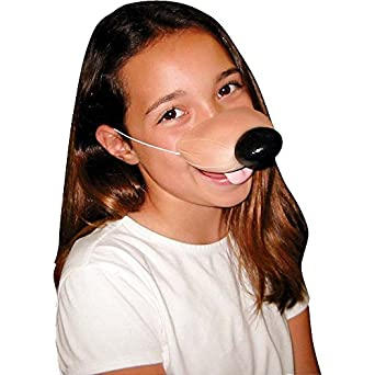 Rubie's Costume Co Unisex Adult Nose Dog With Elastic
