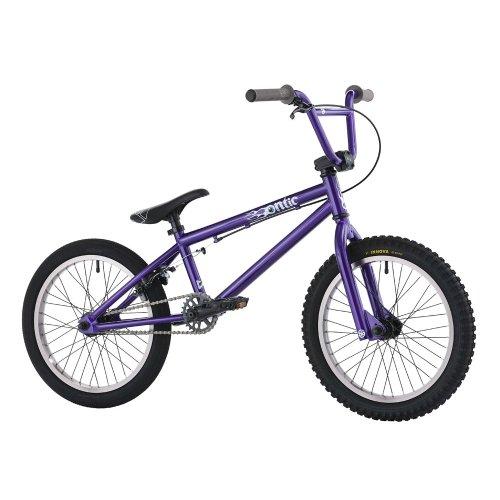 Hoffman Bikes 18-Inch Ontic BMX Bike (Ano Purple)