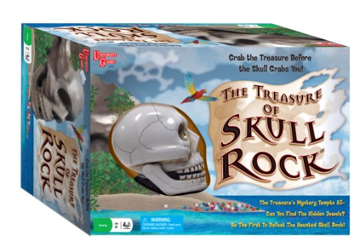 The Treasure of Skull Rock Adventure Board Games