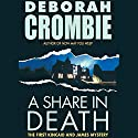 A Share in Death Audiobook by Deborah Crombie Narrated by Michael Deehy